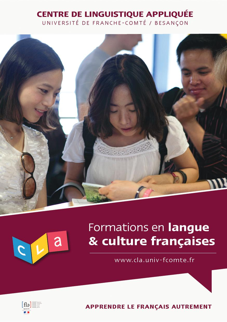 Formations en langue & culture françaises