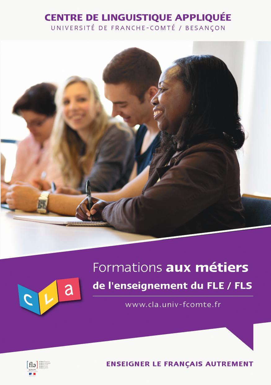 Formations aux métiers de l'enseignement du FLE/FLS