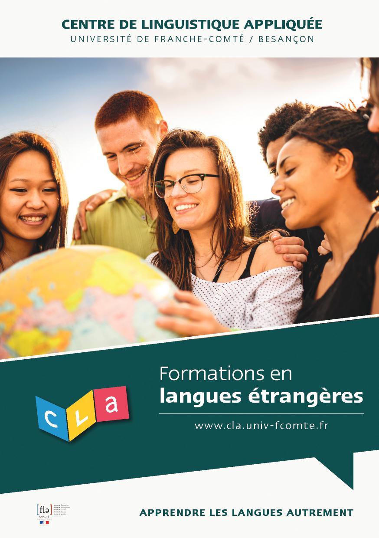 Formations en langues étrangères