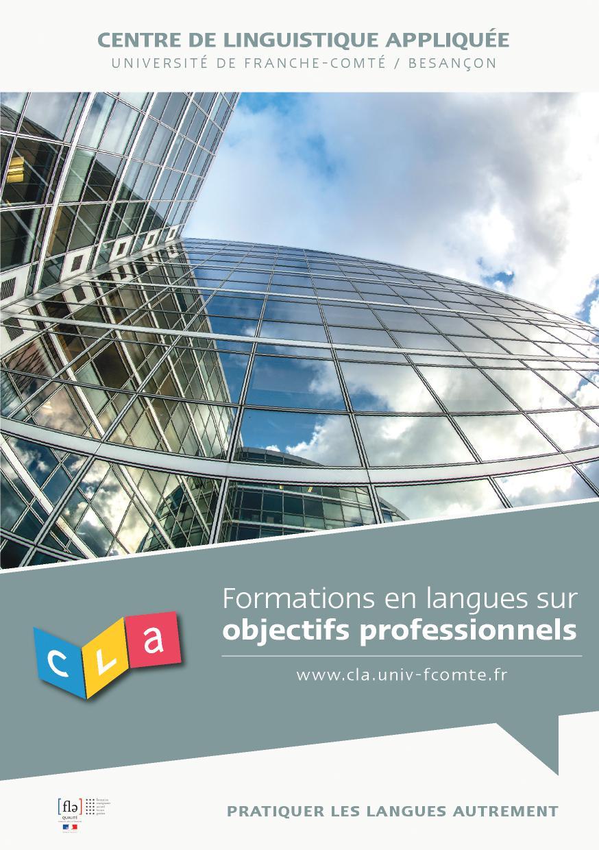 Formations en langues sur objectifs professionnels